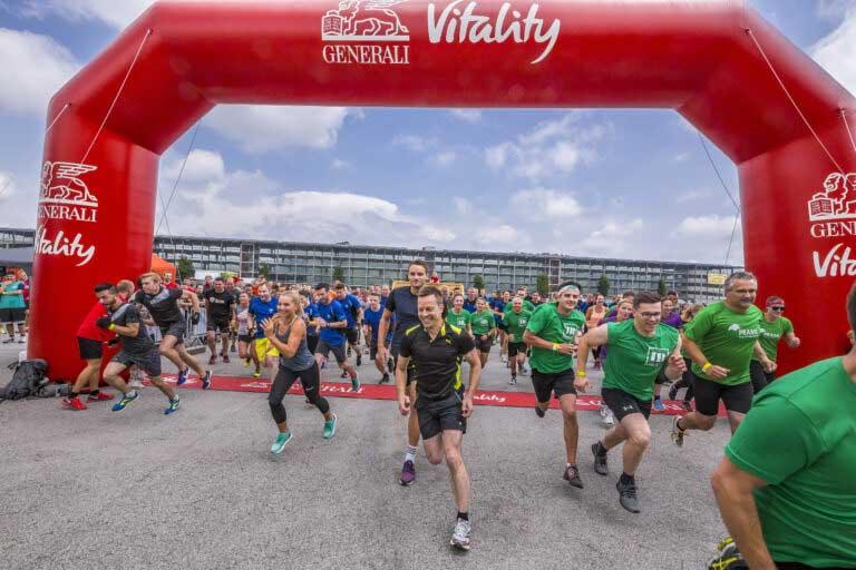INN RUN Hindernislauf Passau - Firmen Fitness - Betriebssport - Firmenlauf